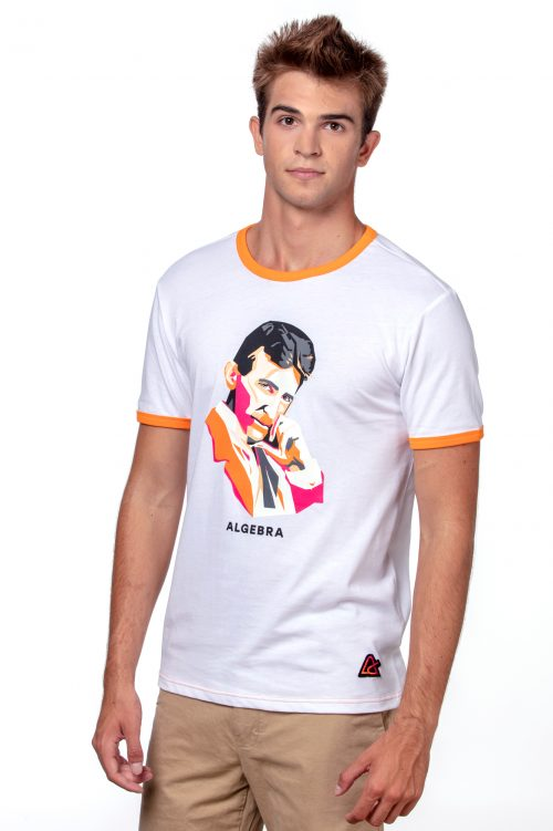 T-shirt muški 'Tesla'